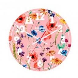 фото Часы настенные Вега А 1-1 «Розовый прованс»