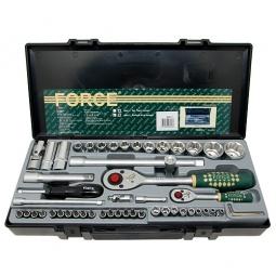 Купить Набор с торцевыми головками и битами Force F-4541-7