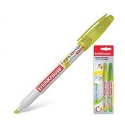 фото Набор маркеров-текстовыделителей Erich Krause V-15: 2 цвета. Цвет: желтый, зеленый