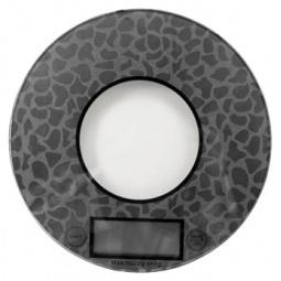 фото Весы кухонные LUMME LU-1317. Цвет: серебристый. Рисунок: орнамент