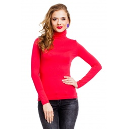 фото Водолазка Mondigo 046. Цвет: ярко-розовый. Размер одежды: 42