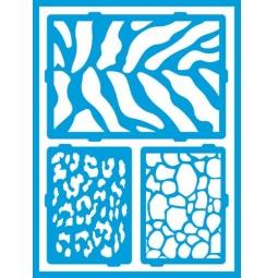 Купить Трафарет декоративный для стекла и других поверхностей DecoArt Americana Сафари