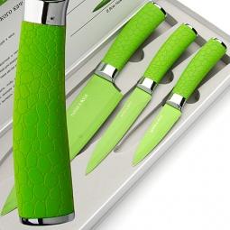 фото Набор ножей Mayer&Boch Turtle. Цвет: зеленый