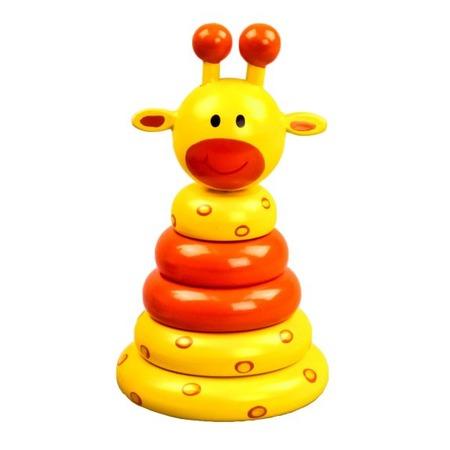 Купить Игрушка-пирамидка Mapacha «Жираф» 76522
