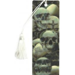 фото 3D-закладка для книг Липуня «Черепа»