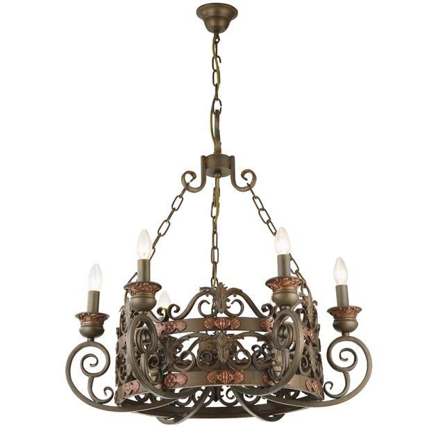 фото Люстра подвесная Arte Lamp Capitello A8852LM-6BR