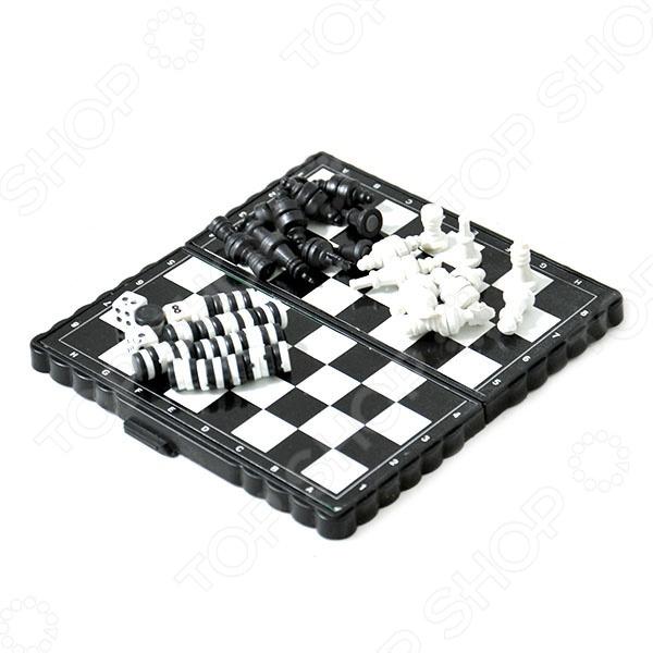 Набор из шашек, шахмат и нард TX18674    /