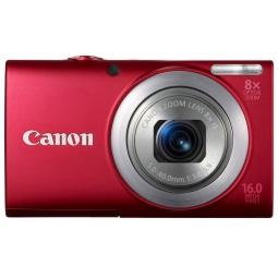 фото Фотокамера цифровая Canon PowerShot A4000 IS. Цвет: красный