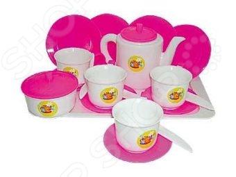 Игровой набор для девочки ПЛЭЙДОРАДО «Чайный»