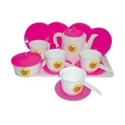 фото Игровой набор для девочки ПЛЭЙДОРАДО «Чайный»