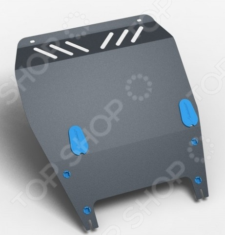 Комплект: защита картера и крепеж Novline-Autofamily Ford Tourneo Connect, Transit Connect 2006: 1,8 дизель МКППЗащита картера двигателя<br>Комплект: защита картера и крепеж Novline-Autofamily Ford Tourneo Connect, Transit Connect 2006: 1,8 дизель МКПП обеспечит надежную защиту двигателя от внешних факторов. Крепежные элементы с оцинкованной поверхностью устойчивы к воздействию агрессивной внешней среды, антигололедных реагентов, что исключает заедание резьбы и уменьшает риск появления ржавчины в месте соединения с кузовом. Также предусмотрены демпферы для защиты при движении на большой скорости, они гасят колебания в точках соприкосновения с кузовом. Специальное порошковое покрытие обеспечивает высокую защиту всех металлических поверхностей от воздействия коррозии, царапин и других механических повреждений. Защита была разработана специально для российских дорог, поэтому элементы смогут выдерживать удары при наезде на некоторые препятствия, при этом обеспечивать эффективную защиту узлов и других агрегатов. Заглушки в отверстия для технического обслуживания автомобиля поставляются в комплекте. Товар, представленный на фотографии, может незначительно отличаться по форме от данной модели. Фотография представлена для общего ознакомления покупателя с цветовым ассортиментом и качеством исполнения товаров данного производителя.<br>