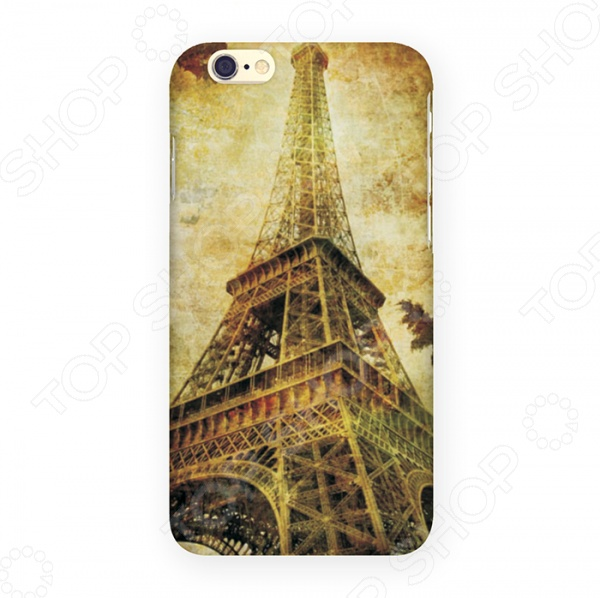 Чехол для iPhone 6 Mitya Veselkov «Эйфелева осенью» цена