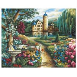 Купить Набор для рисования по номерам Schipper «Летний замок»