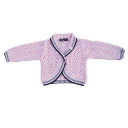 Купить Болеро детское для девочек EKO «Кружево». Цвет: светло-розовый