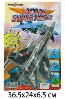 Самолет игрушечный со световыми эффектами Pioner 626472 со световыми эффектами станет отличным подарком для маленького пилота! Игрушка отлично подходит как для игр на открытом воздухе, так и в закрытых помещениях. Изделие выполнено из нетоксичных материалов, поэтому полностью безопасно для малыша. Для работы необходимы батарейки типа АА, которые приобретаются отдельно.