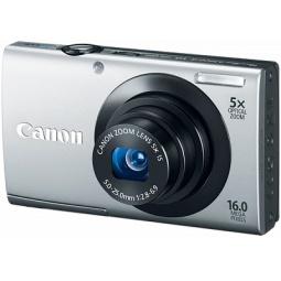 фото Фотокамера цифровая Canon PowerShot A3400 IS. Цвет: серебристый