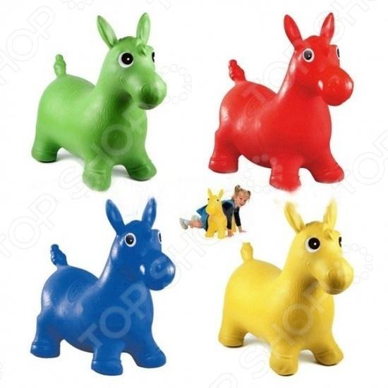 Игрушка-попрыгунчик Shantou Gepai «Лошадка». В ассортименте лошадка скакалка shantou gepai лошадка с колесиками коричневый от 3 лет плюш