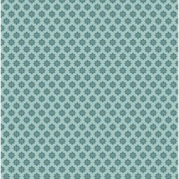 фото Отрез ткани Tilda Цветок-звездочка. Цвет: зеленый