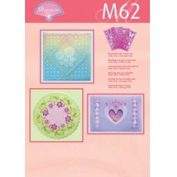 Купить Набор схем для парчмента Pergamano M62 Работа с шаблонами