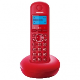 фото Радиотелефон Panasonic KX-TGB210. Цвет: красный