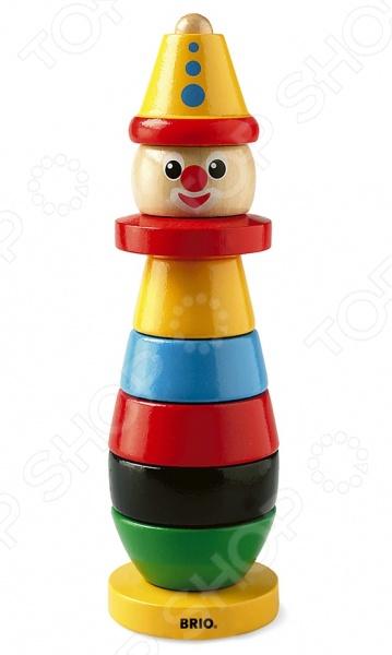 Игрушка-пирамидка Brio «Клоун» игрушка brio 33306