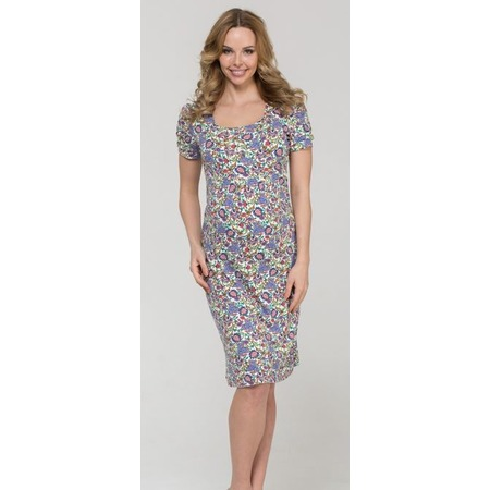 Купить Платье для беременных Nuova Vita 2101.05. Цвет: молочный