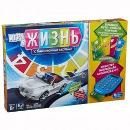 Купить Игра настольная Hasbro «Игра в жизнь» с банковскими картами