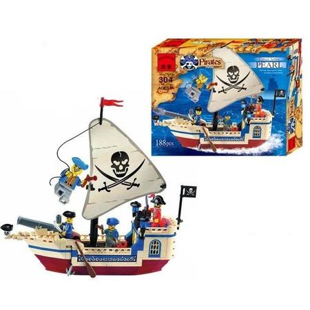 Купить Конструктор игровой Brick «Пиратский корабль» 1717071