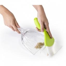 Купить Совок и щеточка для уборки крошек Qualy Sparrow