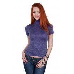 фото Водолазка Mondigo 9411. Цвет: фиолетовый. Размер одежды: 44