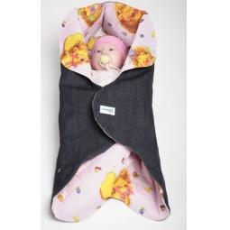 фото Конверт детский Ramili Baby Style. Цвет: розовый
