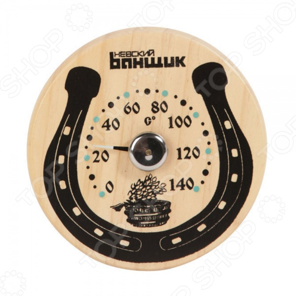 Термометр для бани и сауны EVA «Подкова на счастье»