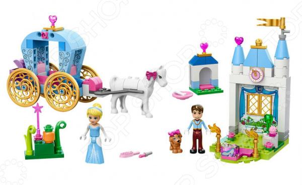 Конструктор LEGO «Карета Золушки»Конструкторы LEGO<br>Конструктор LEGO Карета Золушки оригинальный комплект, состоящий из деталей, с помощью которых можно собрать целую карету для золушки, чтобы поучаствовать в захватывающей поездке на бал. Все детали выполнены из нетоксичных материалов, поэтому полностью безопасны. Детский конструктор является достаточно практичным учебным пособием, так как он развивает память, мышление, логику, фантазию, а также моторику рук. Сборка конструктора подарит ребенку массу удовольствия и приятное времяпрепровождение. Преимущества:  Множество оригинально выполненных элементов.  Увлекательный процесс сборки.  Качественный материал.<br>