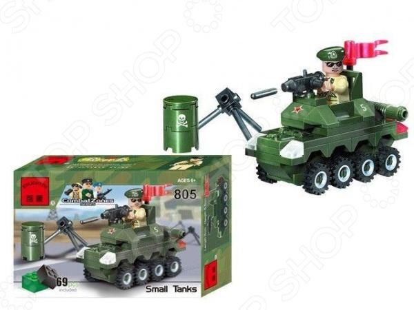 Конструктор игровой Brick Small Tanks 1717108
