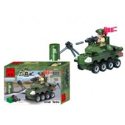 фото Конструктор игровой Brick Small Tanks 1717108