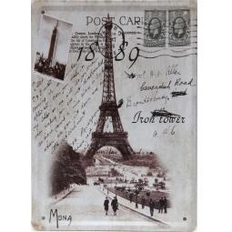 фото Картина на металле Феникс-Презент «Открытка из Парижа»