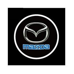 фото Светодиодные проекторы логотипа автомобиля Mazda