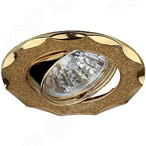Светильник встраиваемый поворотный Эра DK17 GD/SH YLСпоты встраиваемые<br>Светильник встраиваемый поворотный Эра DK17 GD SH YL это красивый и мощный светильник, который способен ярко освещать целую комнату. Светильник может служить единственным источником света или дополняться декоративными светильниками. Освещение такого типа подходит для не высоких потолков, поскольку занимает достаточно мало места. Классический светильник, который позволит вам подсветить комнату, или напротив создать рассеянное освещение. Потолочный светильник может выступать как локальным источником света, так и основным, можно осветить рабочую зону или подчеркнуть интерьер. Если вы хотите создать в квартире определенный интерьер, то, в большинстве случаев, без потолочных светильников вам не обойтись. Следует заметить, что потолочные светильники прекрасно подходят для рабочих помещений, кабинетов и офисов. Можно использовать как замену люстр в маленьких помещениях, например, в помещениях где низкие потолки и вешать люстру просто невозможно. Кроме того, потолочные светильники помогут создать неповторимую атмосферу в коридорах. Свет, который излучается очень мягкий, при этом достаточно хорошо освещает помещение.<br>