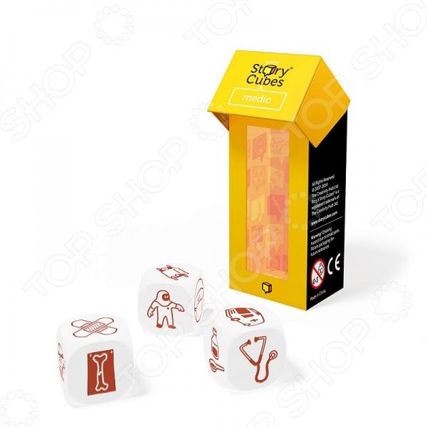 Игра настольная Rory's Story Cubes «Медицина» rory s story cubes настольная игра кубики историй бэтмен