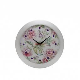 фото Часы настенные Mitya Veselkov «Пионы»