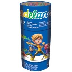 Купить Набор карандашей цветных ADEL Jumbo Неха 211-9520-100