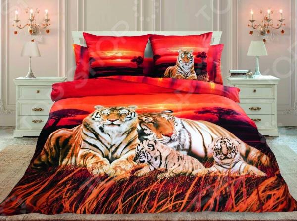 Комплект постельного белья Унисон «Закат в Саванне»
