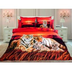 фото Комплект постельного белья Унисон «Закат в Саванне»