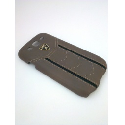фото Чехол Lambordghini Cover Gallardo D2 для Samsung S3 I9300. Цвет: серый