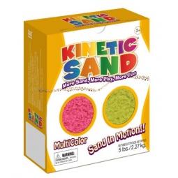 фото Песок кинетический Waba Fun Kinetic Sand. Цвет: розовый, желтый