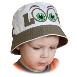 Купить Панама для мальчика Shapochka Look ЯВ121030. Цвет: белый, хаки