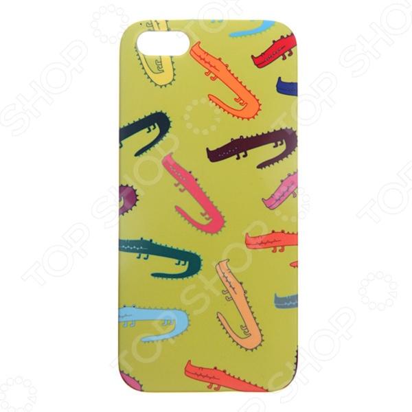 Чехол для iPhone 5 Mitya Veselkov «Крокодилы» 054 шапочка маска ферби черная uni