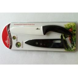фото Нож керамический с чехлом для лезвия Appetite поварской. Цвет лезвия: белый
