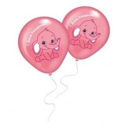 фото Набор воздушных шаров Everts «Слоненок». Цвет: розовый