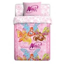 Купить Детский комплект постельного белья Winx Believix